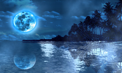 MOON NIGHT VIRTUAL SET