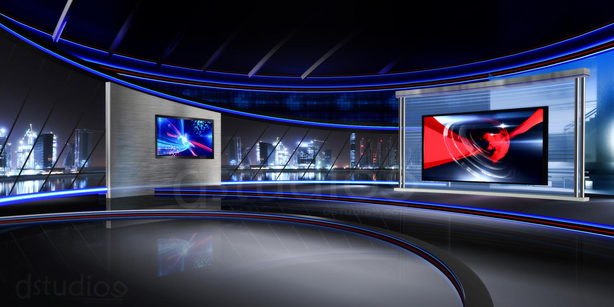 virtual studio after effects template tv studio ds9 4 free virtualset. Black Bedroom Furniture Sets. Home Design Ideas