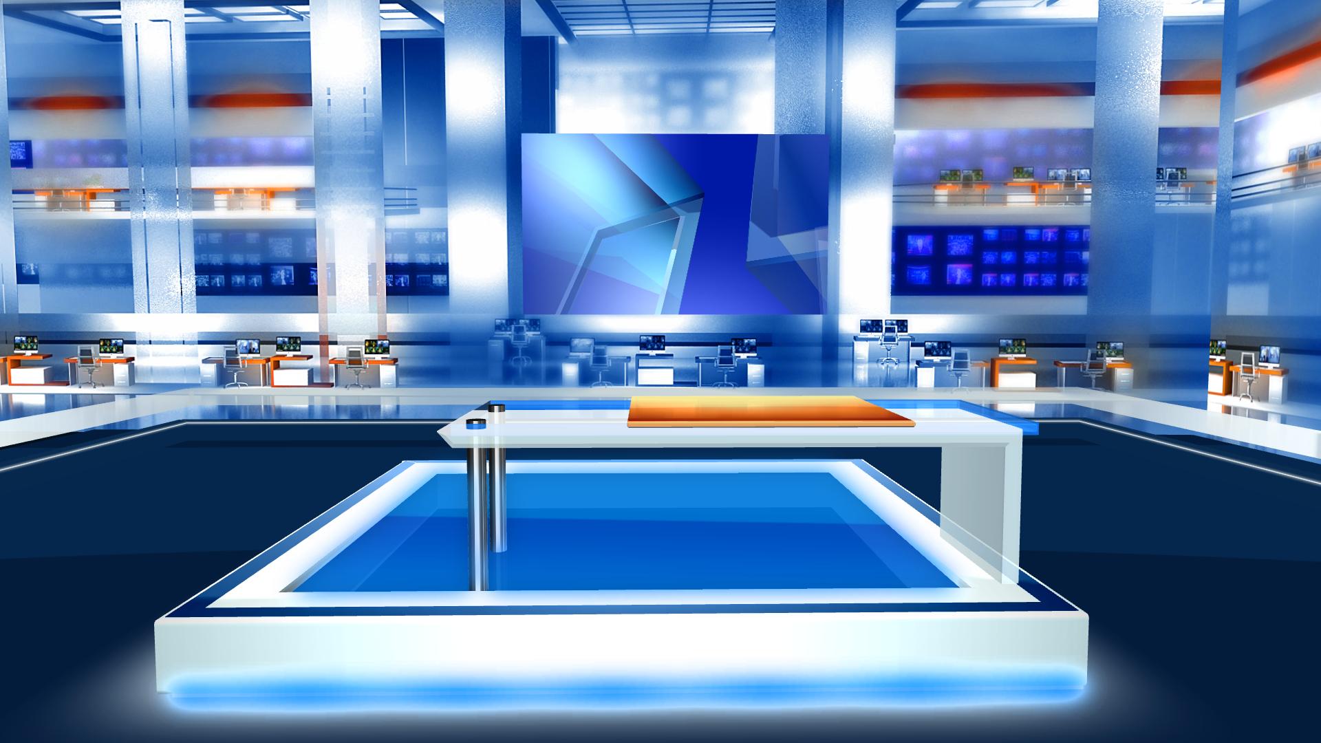 Tv Studio Background Free Download Virtual Studio In Blue Free Virtualset virtual studio in blue free virtualset